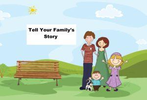 Family history, memoir, life story
