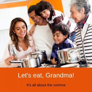 Granny and the Case of the Missing Comma